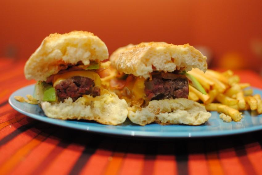 burger baguette