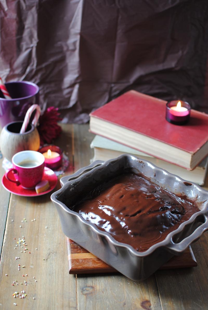 Gâteau au chocolat vegan minute