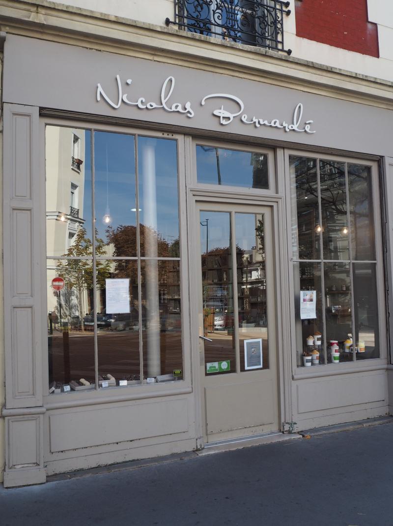 Cours de cuisine de Nicolas Bernardé boutique