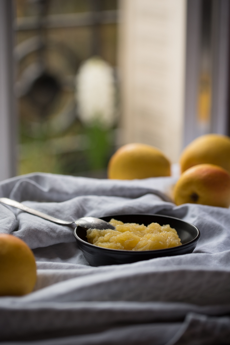 Compote de pommes express au micro-ondes