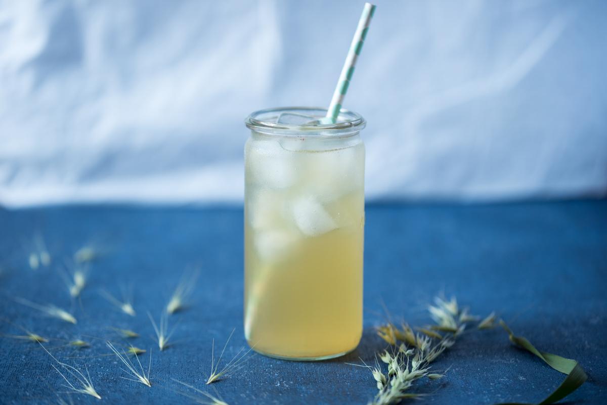 Thé glacé : thé vert & citron vert