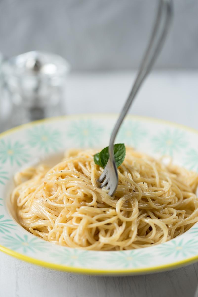 Spaghettis au citron