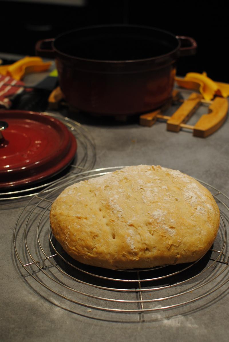 pain maison cuisson cocotte