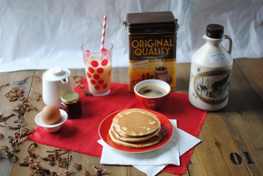 pancakes moelleux du dimanche