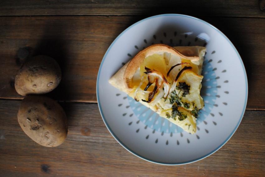 tarte aux pommes de terre