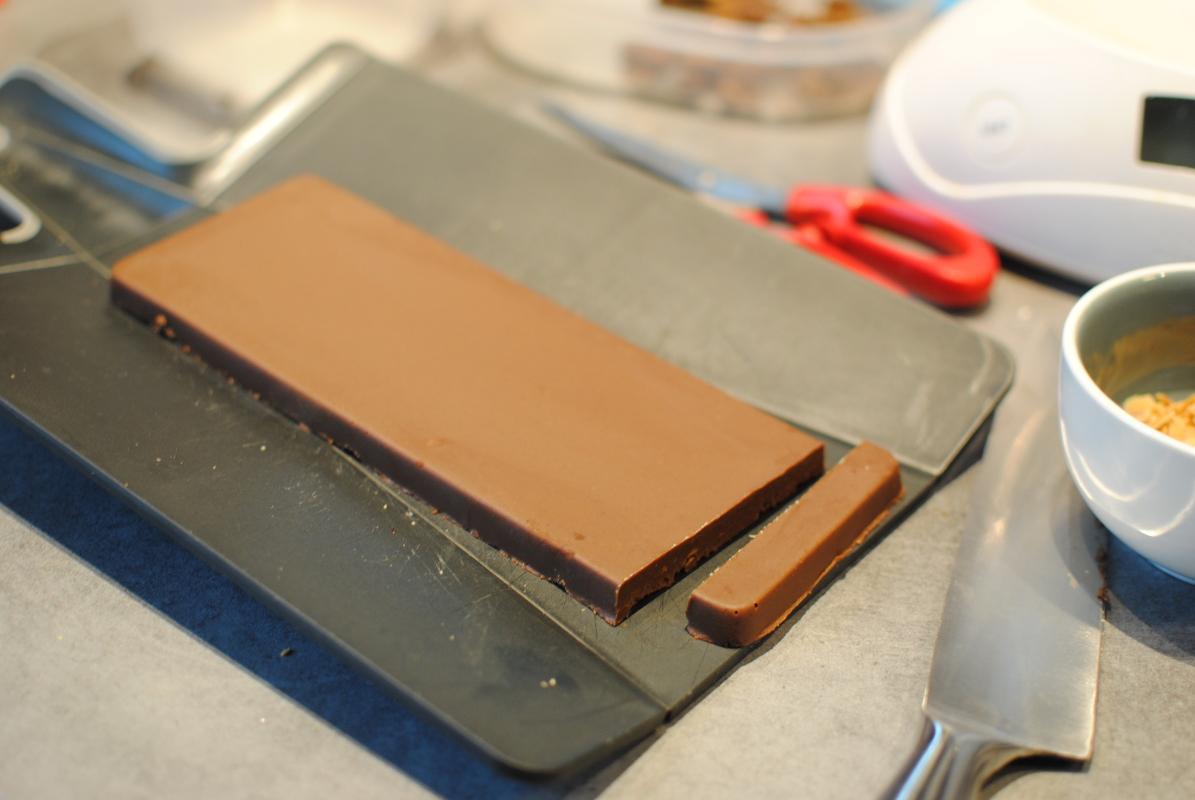 Rochers pralinés au chocolat