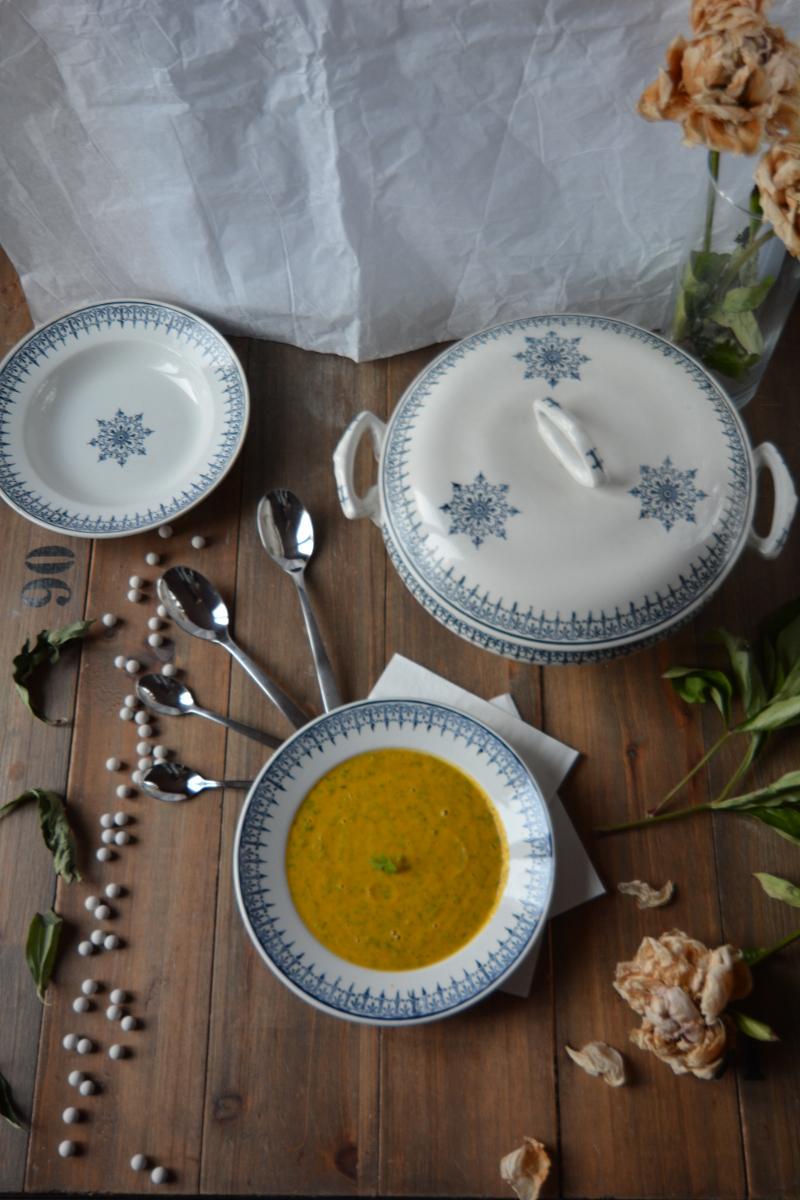 Soupe de carottes au masala