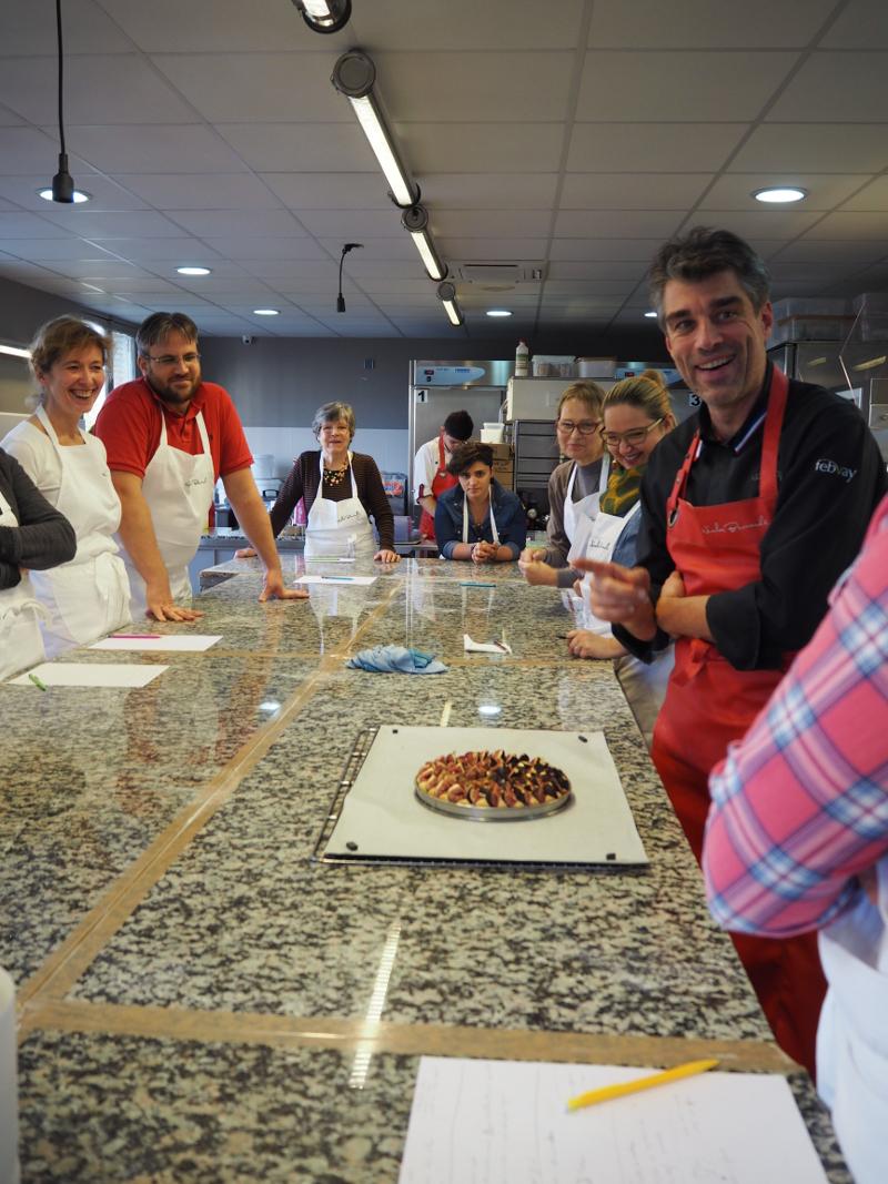 Cours de cuisine de Nicolas Bernardé