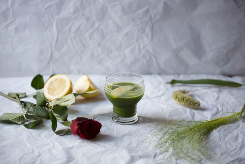 Cocktail matcha calva : le vert de Calva