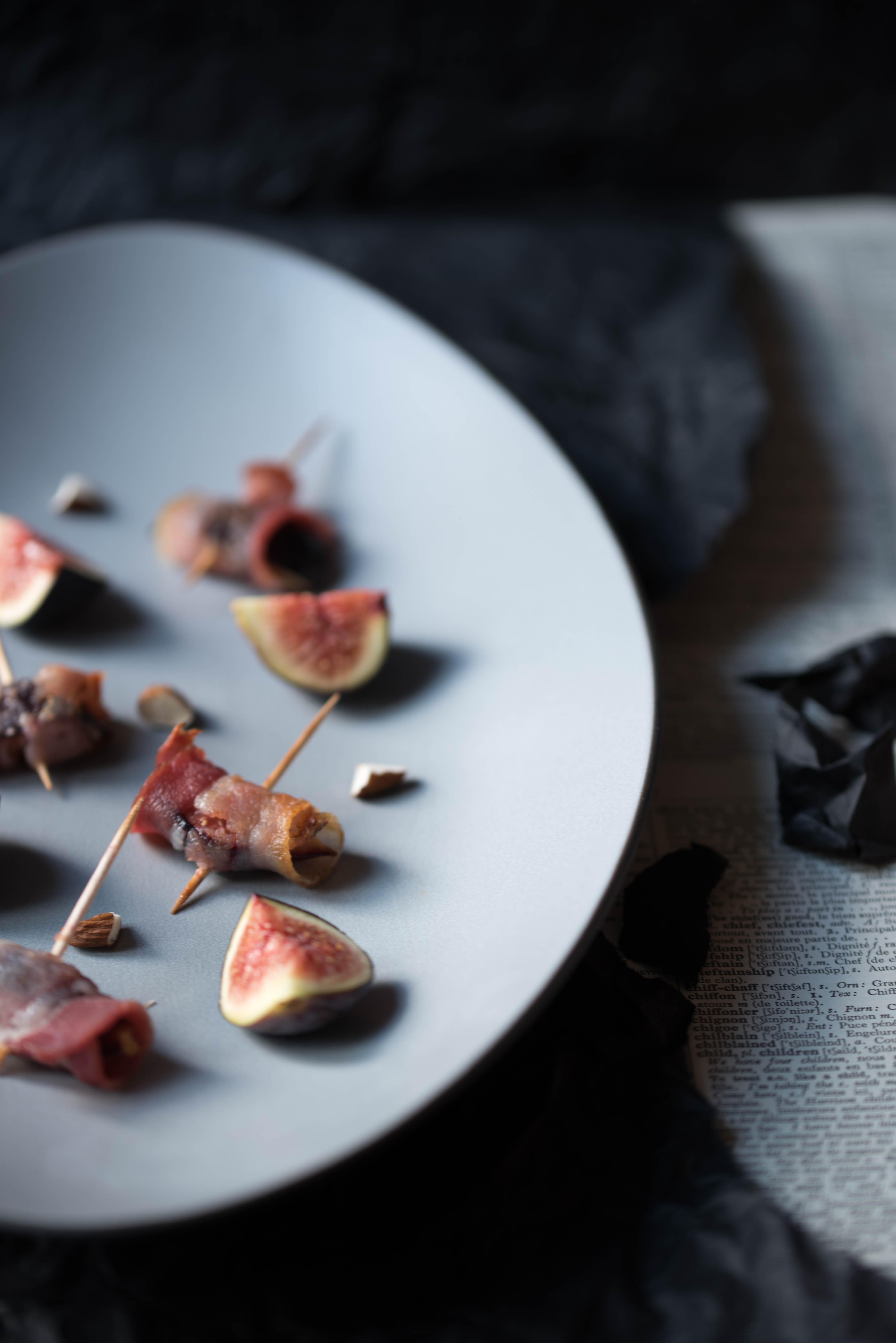 Figues au lard mes goug res aux pinards - Cuisiner des figues fraiches ...