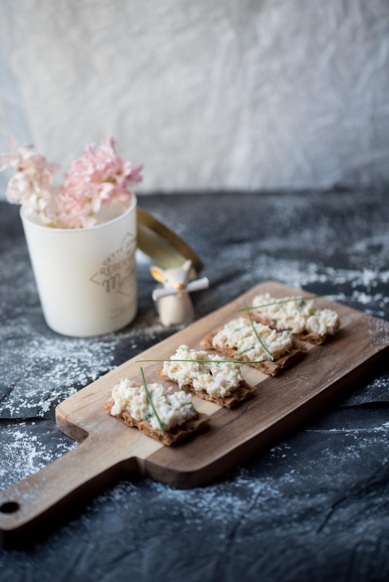 Tartinade crabe wasabi