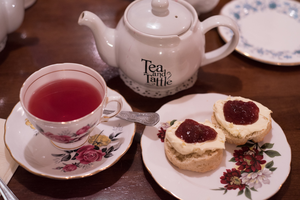 Londres Tea Time Tea and Tattle