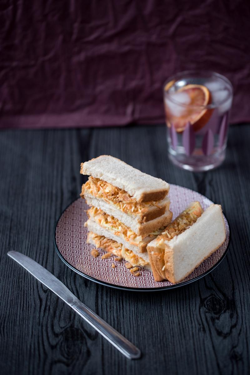 Sandwichs au coleslaw