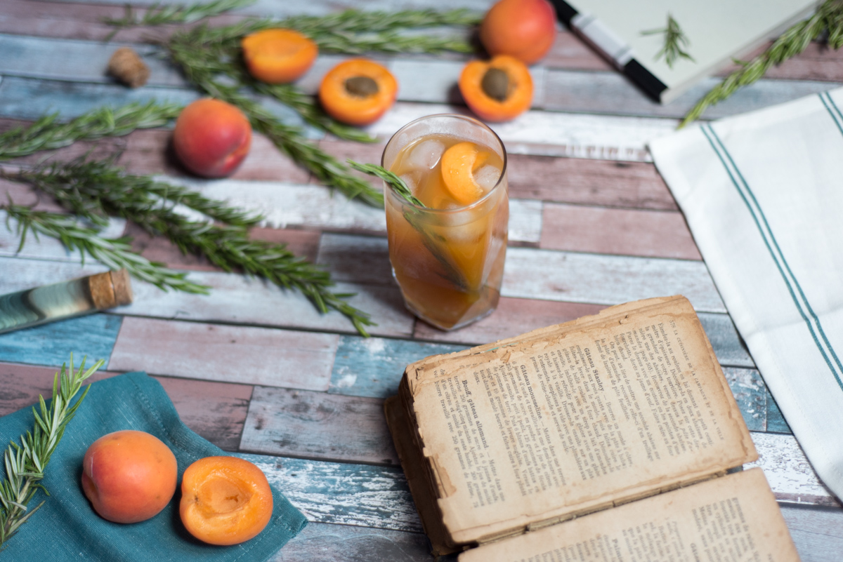 Grandma's Apricot Pie Cocktail