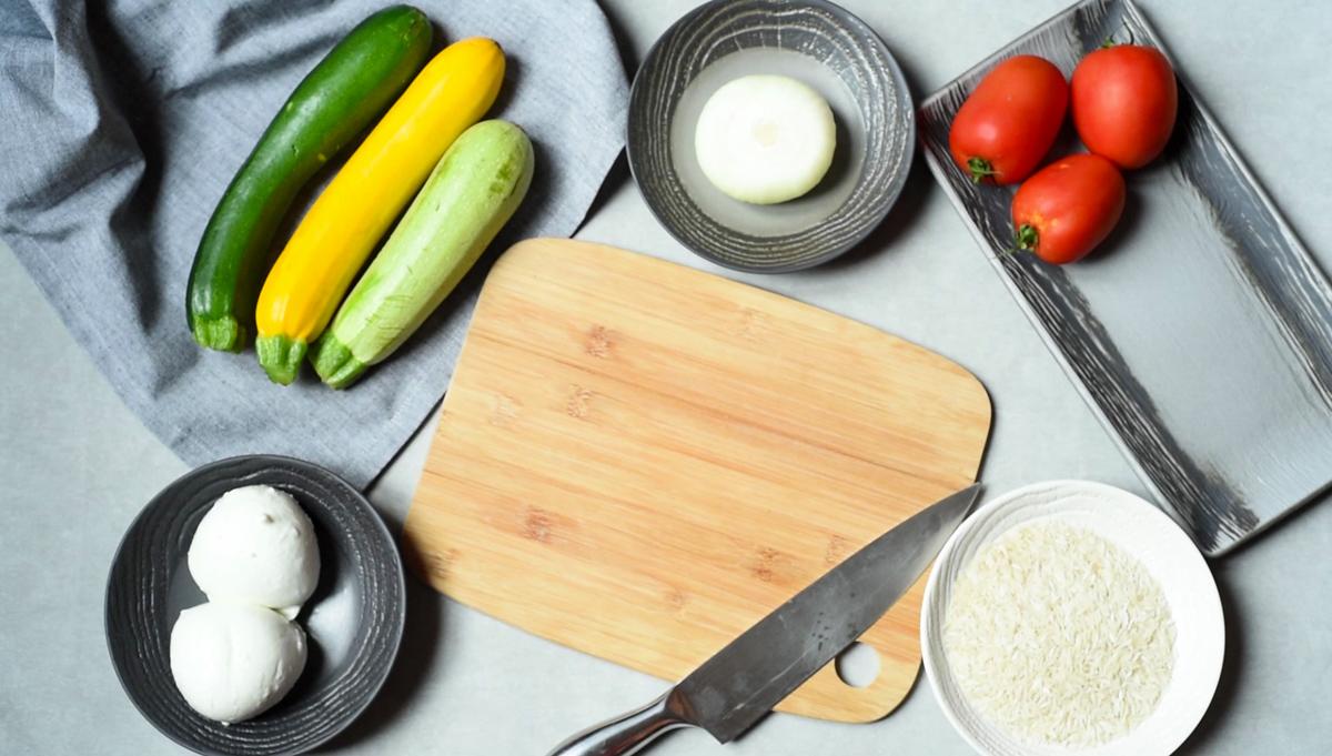 Tian provençal à la mozzarella