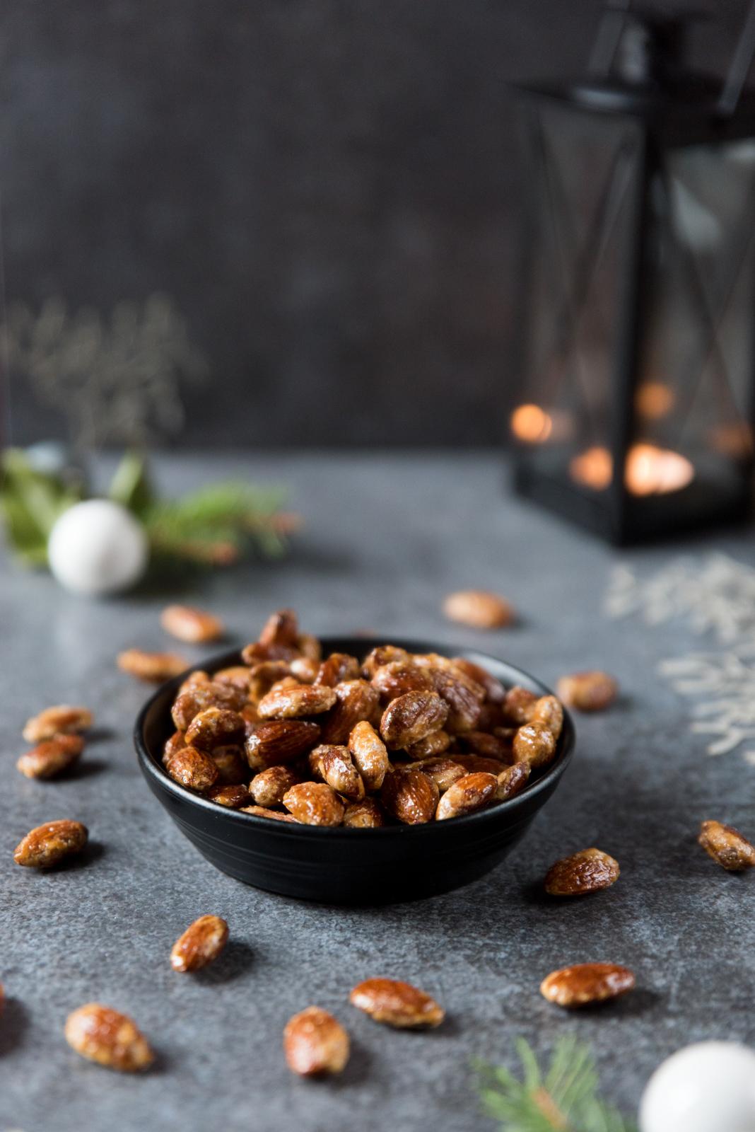 Pralines (amandes grillées et caramélisées)