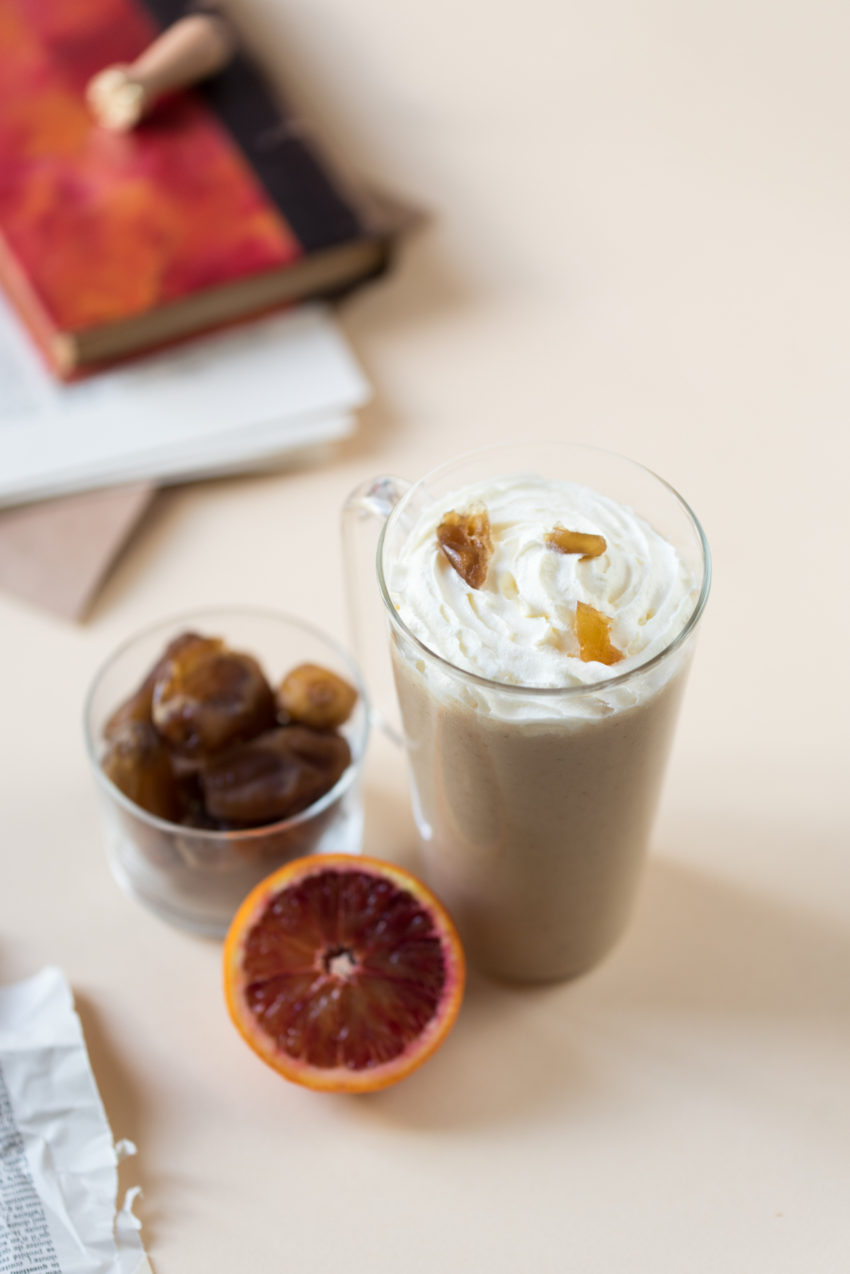 Milkshake aux dattes